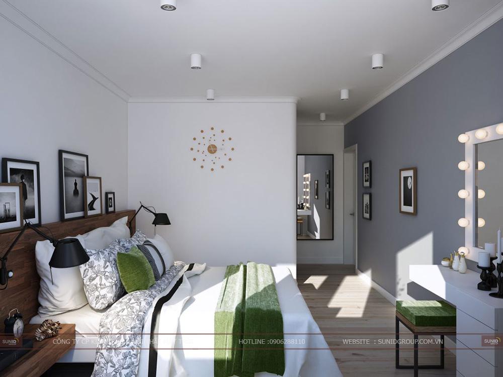 Thiết kế nội thất chung cư SING GARDEN - Bắc Ninh