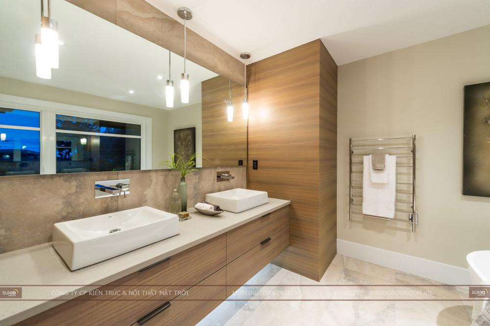 Thiết kế thi công nội thất biệt thự quận Ba Đình