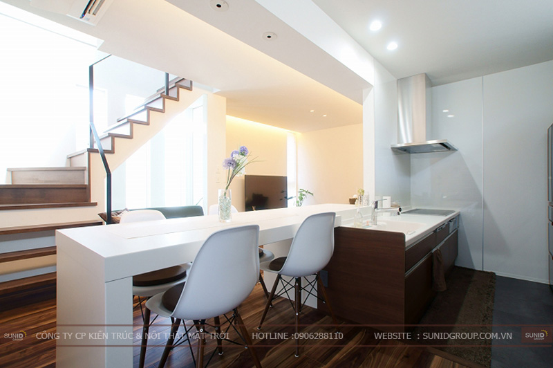 Thiết kế nội thất nhà phố đẹp, hiện đại tại Hà Nội