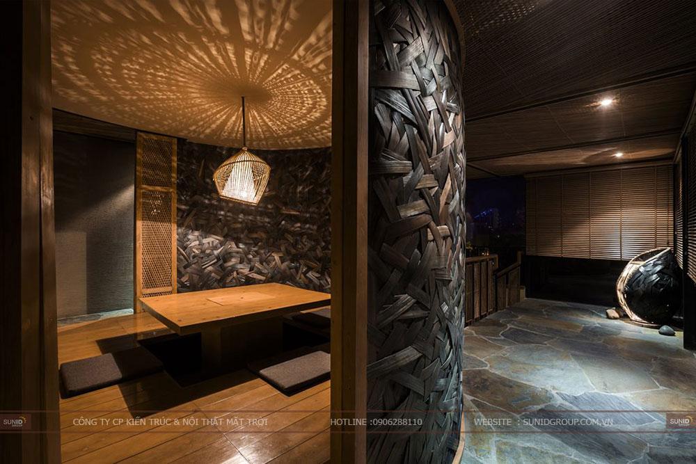 Thiết kế nhà hàng kiểu Nhật tại Bắc Ninh