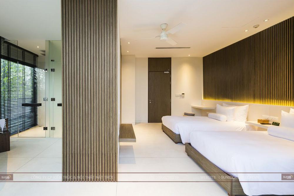 Thiết kế  khách sạn sang trọng tại Bắc Ninh