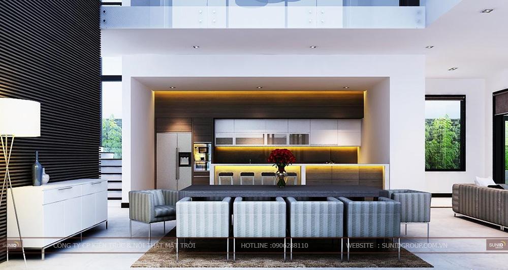 Thiết kế thi công nội thất biệt thự quận Long Biên