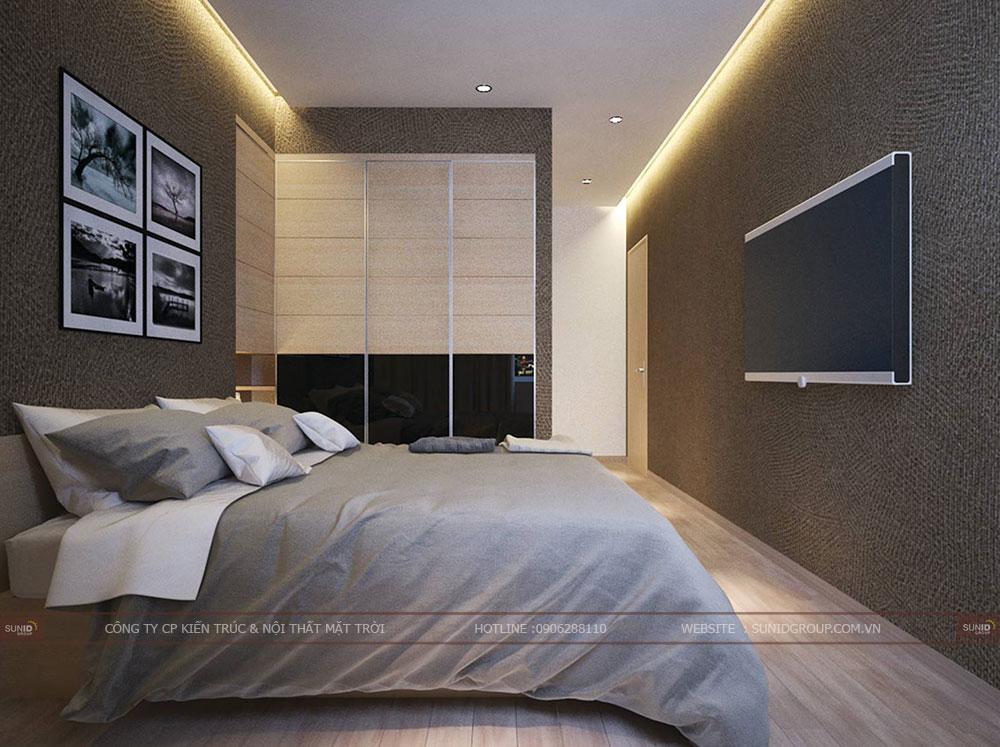 Thiết kế nội thất chung cư Xuân Mai Sparks Tower