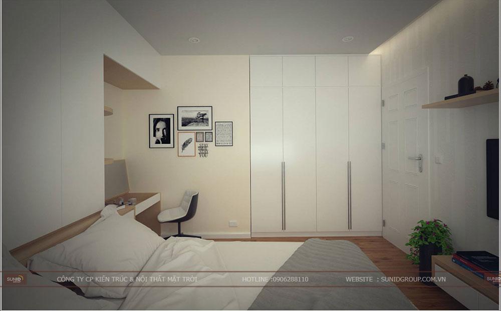 Thiết kế nội thất chung cư 304 Hồ Tùng Mậu
