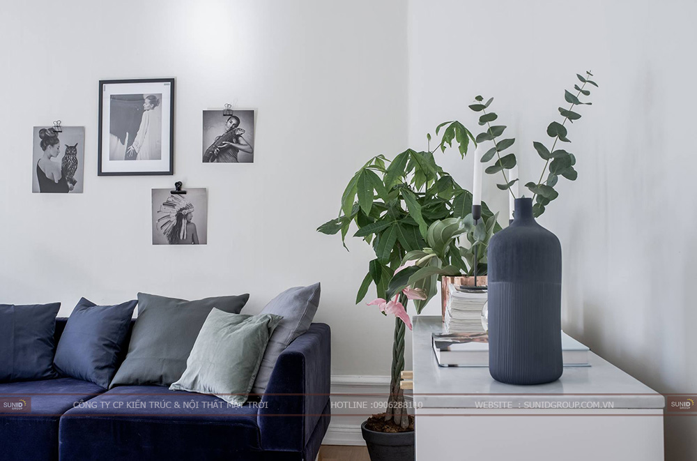 Thiết kế nội thất chung cư Anland