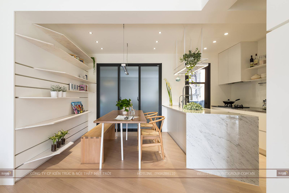 Thiết kế nội thất chung cư Thanh Hà