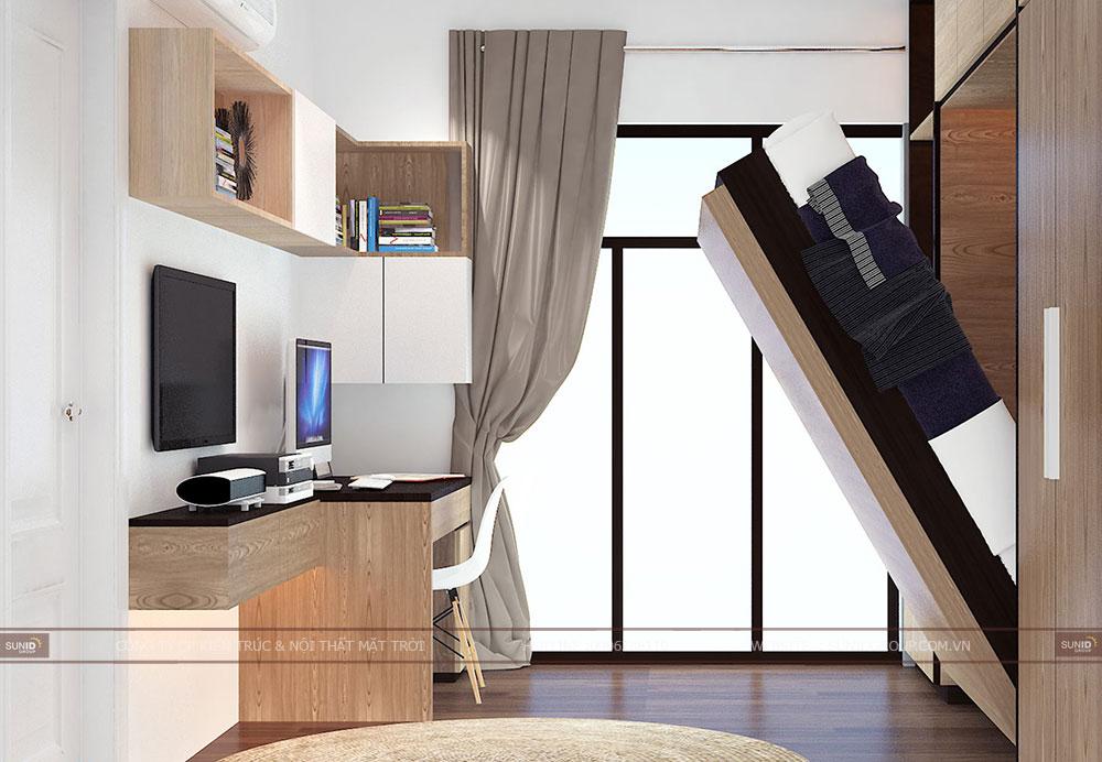 Thiết kế nội thất chung cư Osaka Complex Hoàng Mai