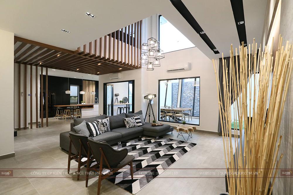 Thiết kế nội thất biệt thự EcoLakes