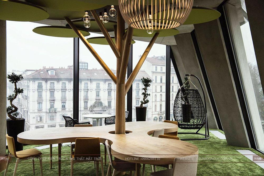 Thiết kế nội thất văn phòng đẹp hiện đại tại Hà Nội