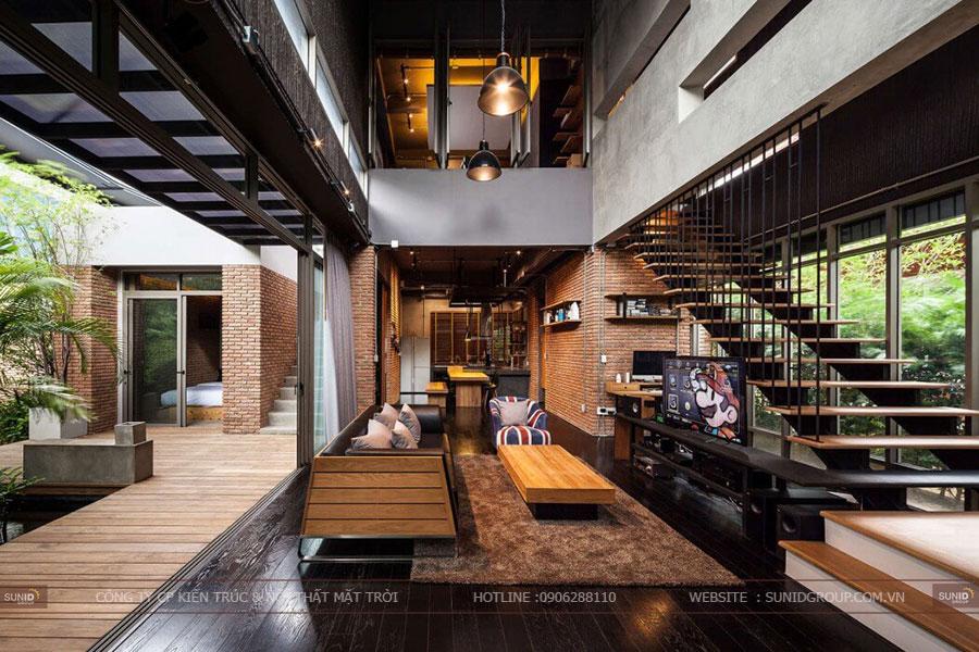 Thiết kế nội thất biệt thự độc đáo tỉnh Bắc Ninh