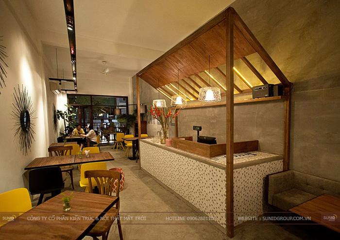 Thiết kế nội thất nhà hàng đẹp tinh tế tại Bắc Ninh