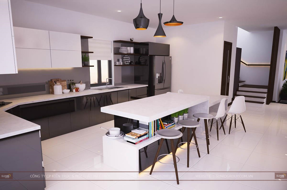 Thiết kế nội thất biệt thự Phoenix Đan Phượng