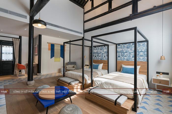 Thiết kế nội thất khách sạn tỉnh Bắc Ninh