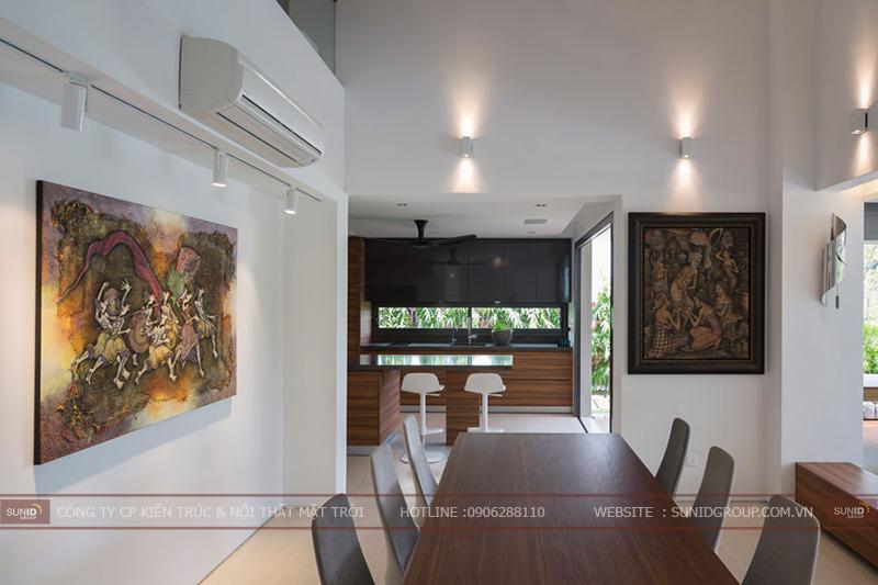Thiết kế thi công nội thất biệt thự quận Hoàng Mai