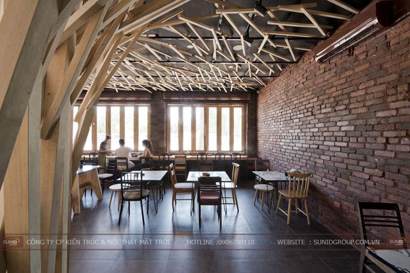 Thiết kế nhà hàng building tại Bắc Ninh