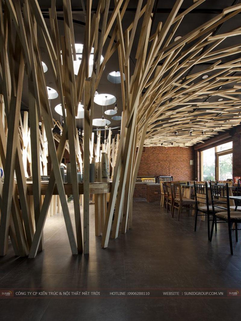 hiết kế nhà hàng building tại Bắc Ninh
