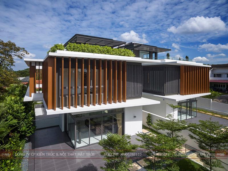 Thiết kế biệt thự Dabaco thành phố Bắc Ninh