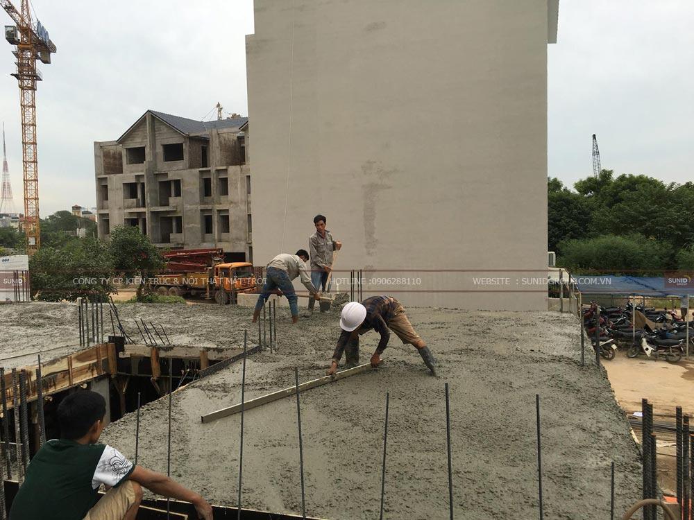 Thi công xây dựng phần mái