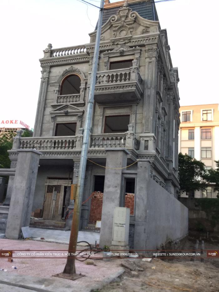 Thi công xây dựng biệt thự Pháp tại Bắc Ninh