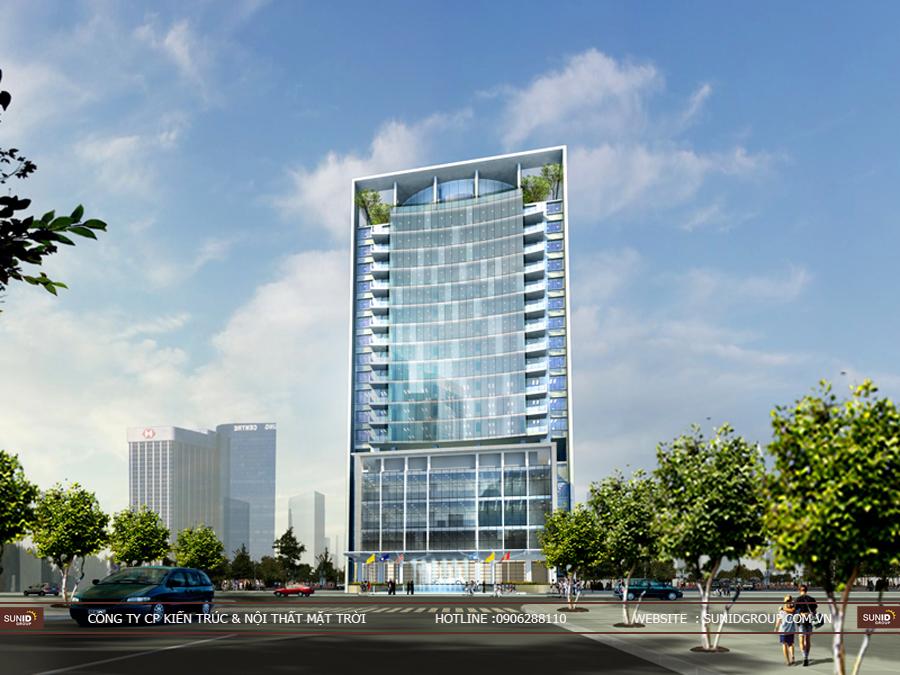 Thiết kế kiến trúc khách sạn tại Hải Phòng