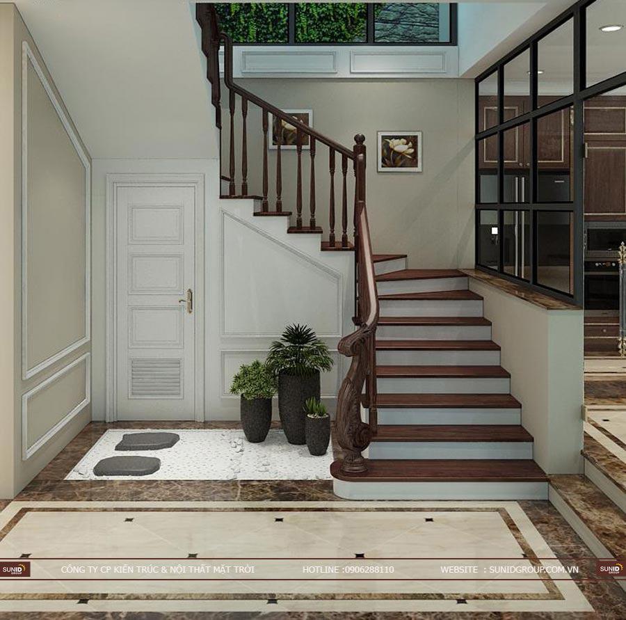 Thiết kế nội thất biệt thự đơn lập Starlake Tây Hồ Tây