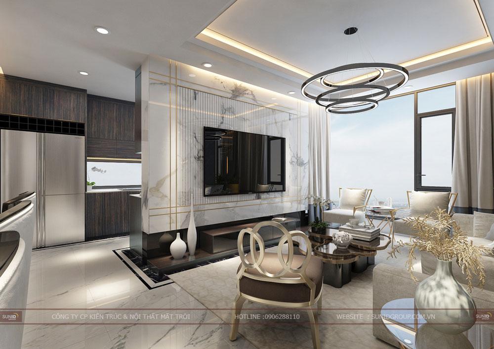 Thiết kế nội thất chung cư Vinhomes Gardenia