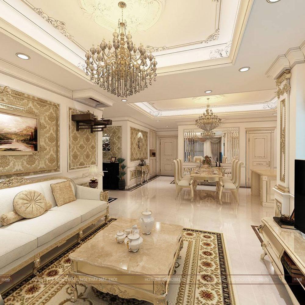 Thiết kế nội thất chung cư SUNSHINE CITY Tây Hồ