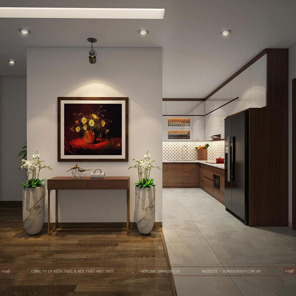 Thiết kế nội thất chung cư Sun Grand City Ancora Residence Lương Yên