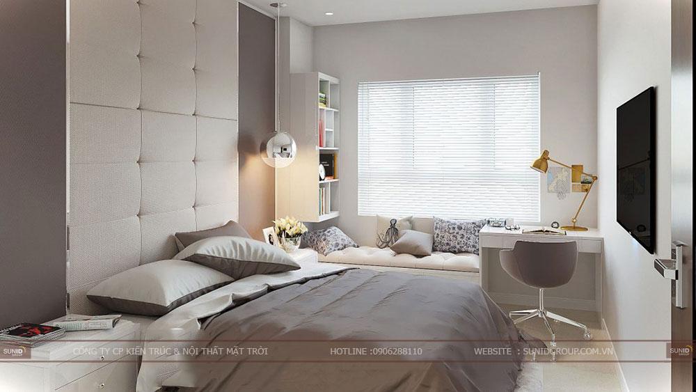 Thiết kế nội thất chung cư Hteco Apollo Xuân Phương