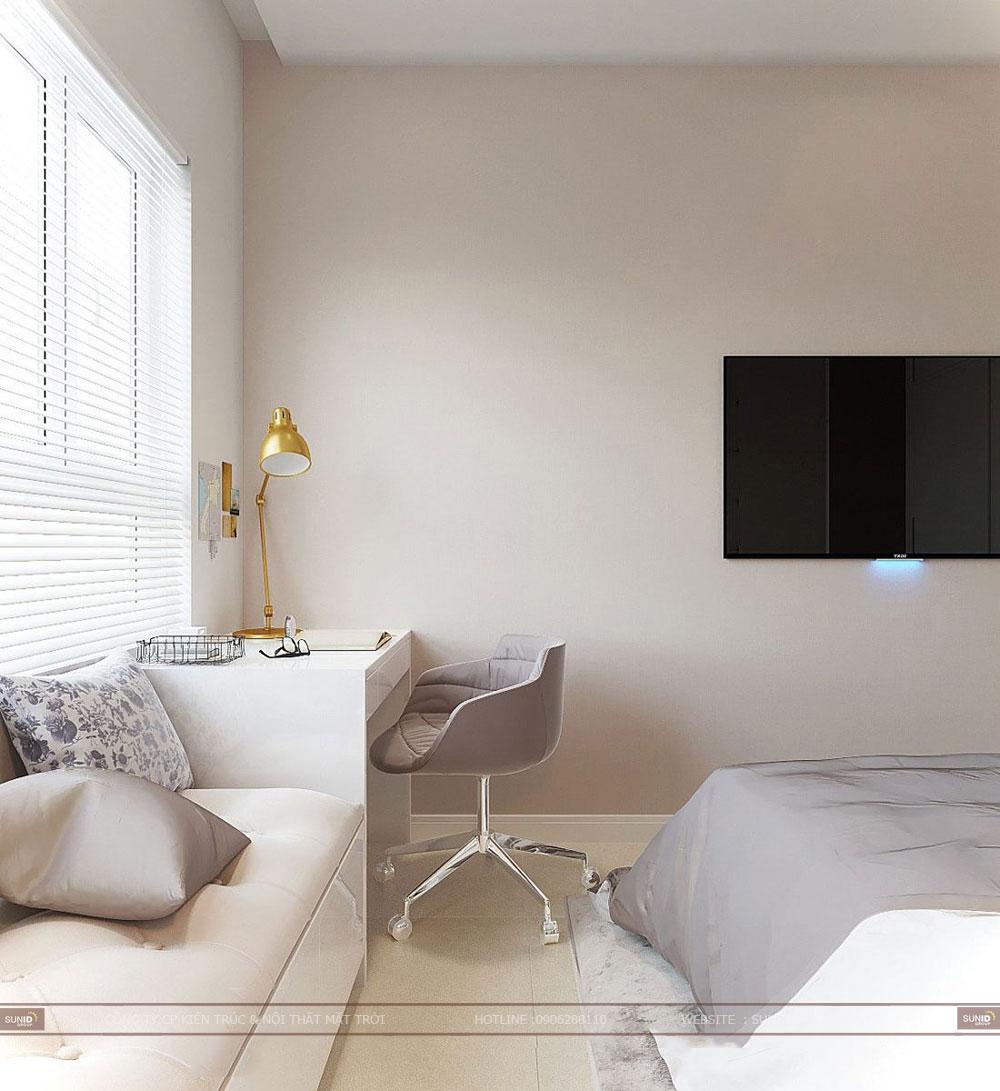 Thiết kế nội thất chung cư Hateco Apollo Xuân Phương