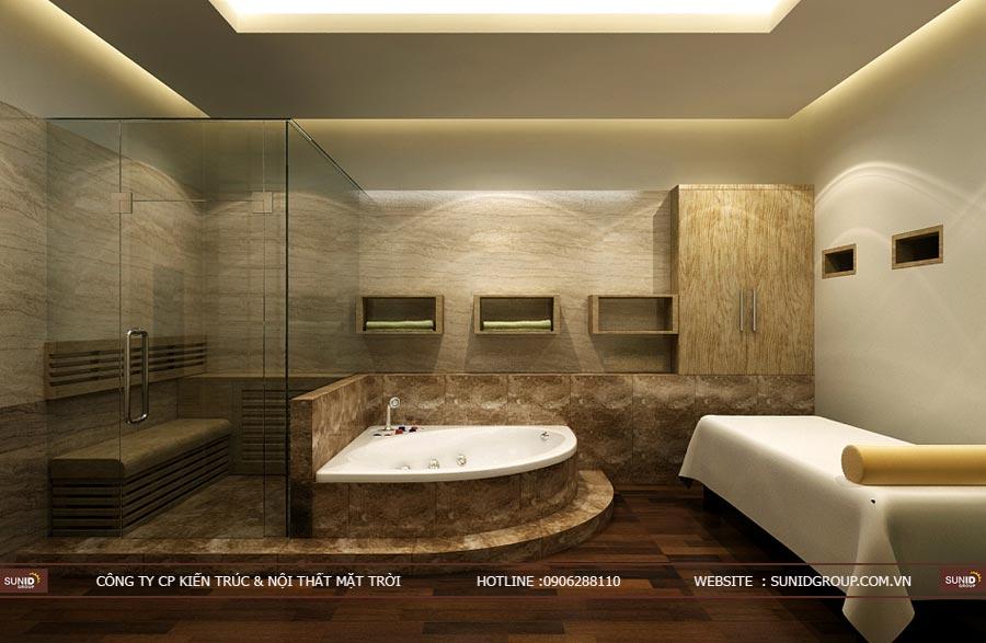Thiết kế nội thất khách sạn tại Hải Phòng