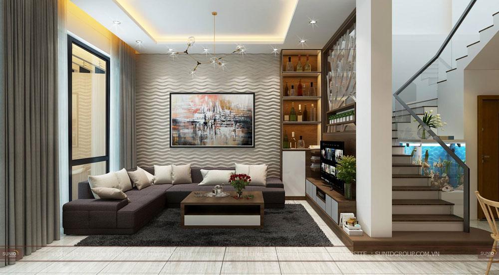 Thiết kế nội thất liền kề Vinhomes Gardenia Mĩ Đình