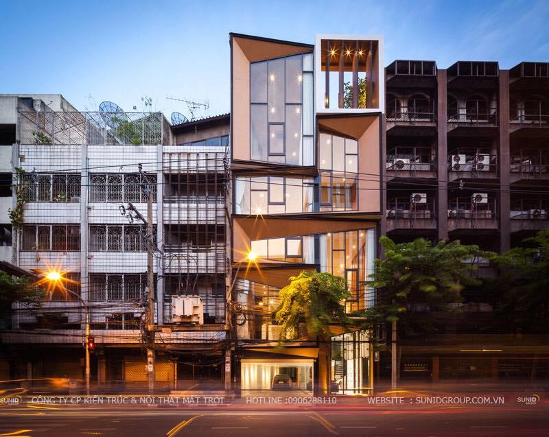 Thiết kế thi công cải tạo nhà phố Tại Hoàng Hoa Thám