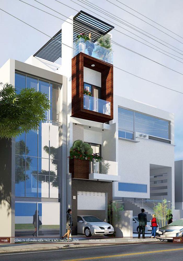 Thiết kế thi công nhà phố tại Hải Phòng