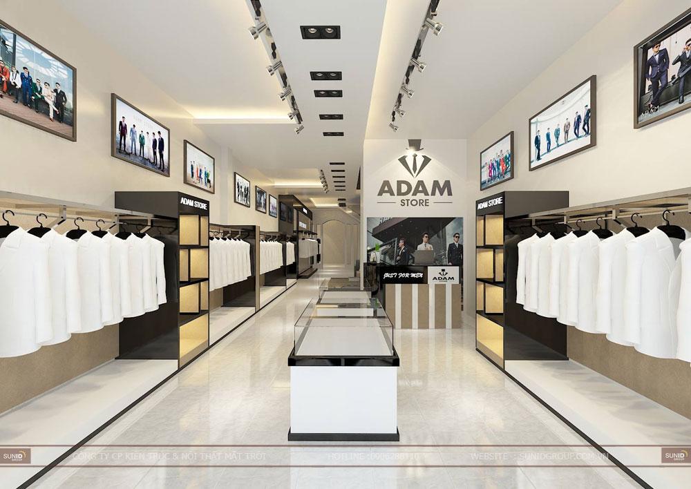 Thiết kế nội thất cửa hàng Shop thời trang đẹp tại Hà Nội