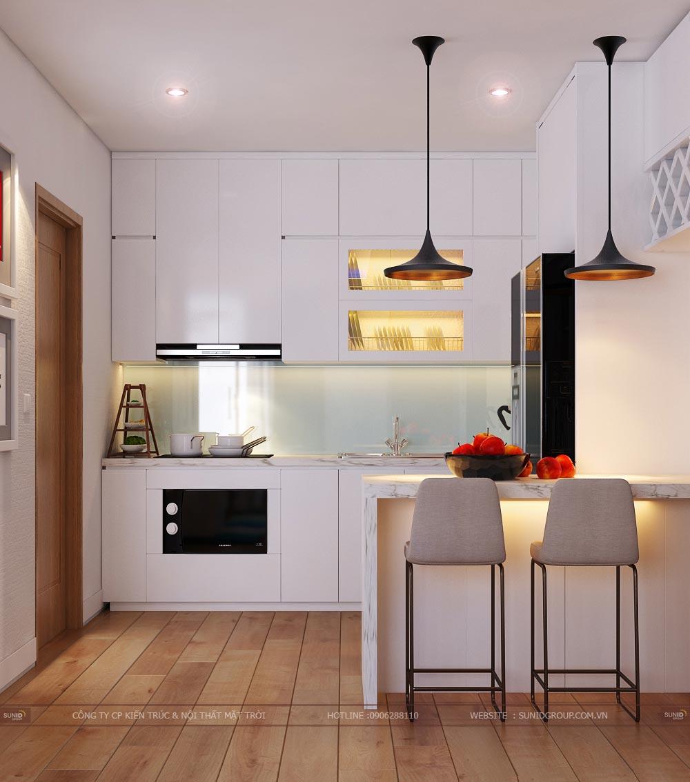 Thiết kế nội thất chung cư Vinhomes Bắc Ninh