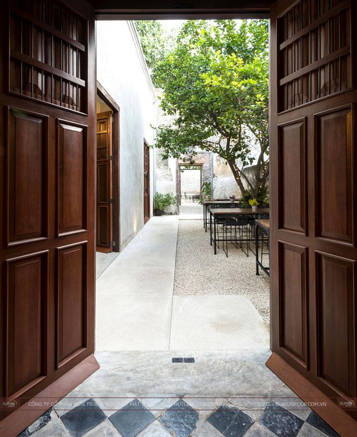 Thiết kế nội thất quán cafe mang nét phong cách cổ xưa