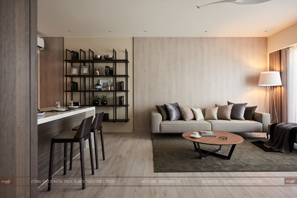 Thiết kế thi công nội thất chung cư Paragon Tower quận Bắc Từ Liêm