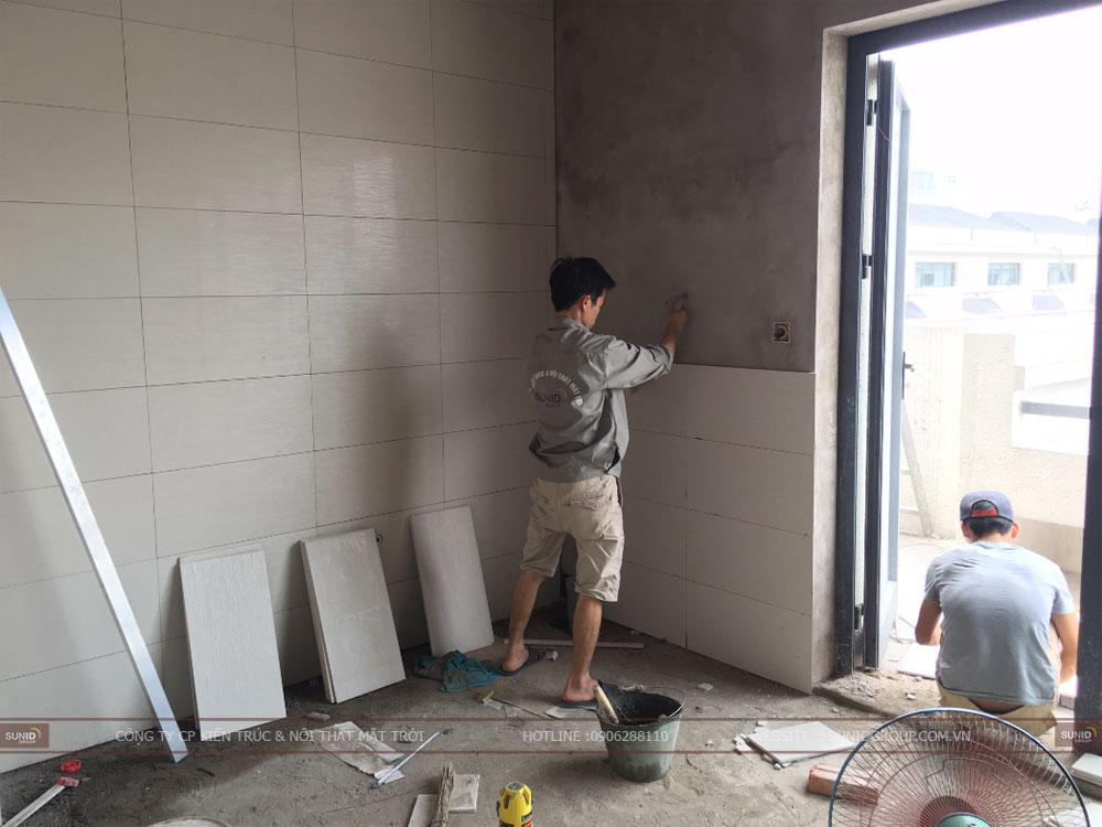 Thi công xây dựng nhà trọn gói tại Hà Nội