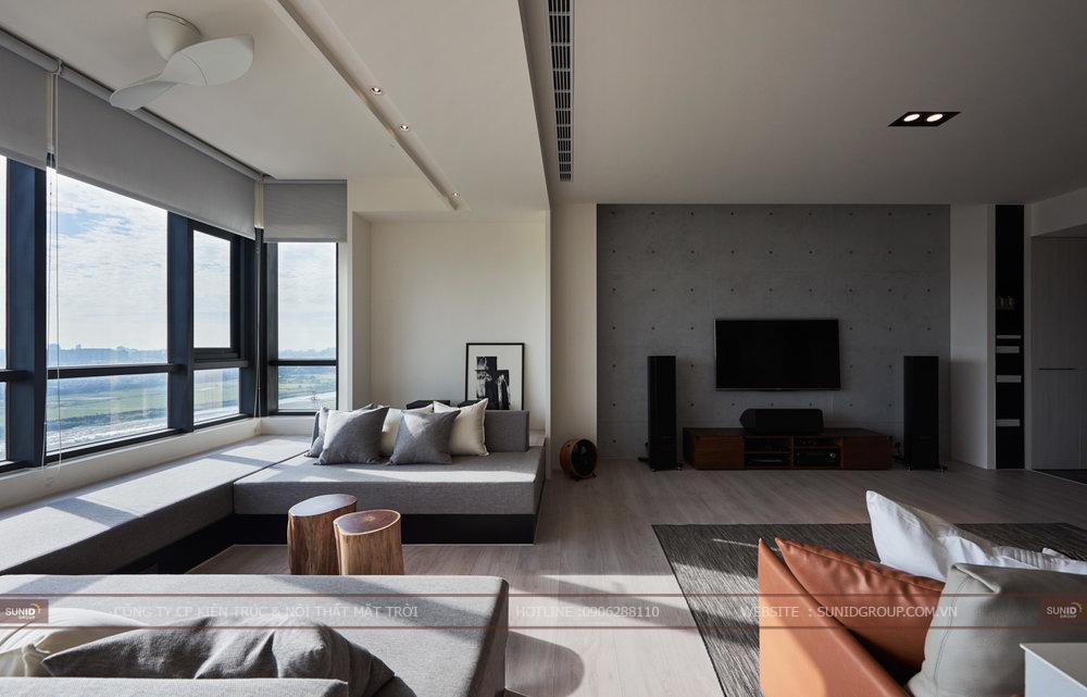 Thiết kế thi công nội thất chung cư Oriental Plaza quận Ba Đình