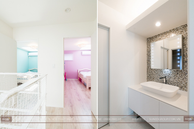 Thiết kế thi công nhà đẹp 5x25m tại Hà Nội