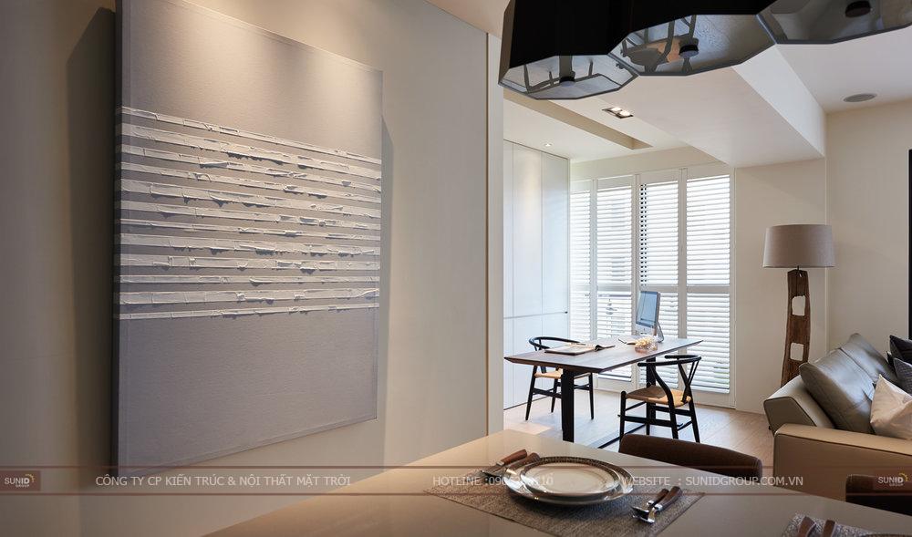 Thiết kế thi công nội thất chung cư Berriver quận Long Biên