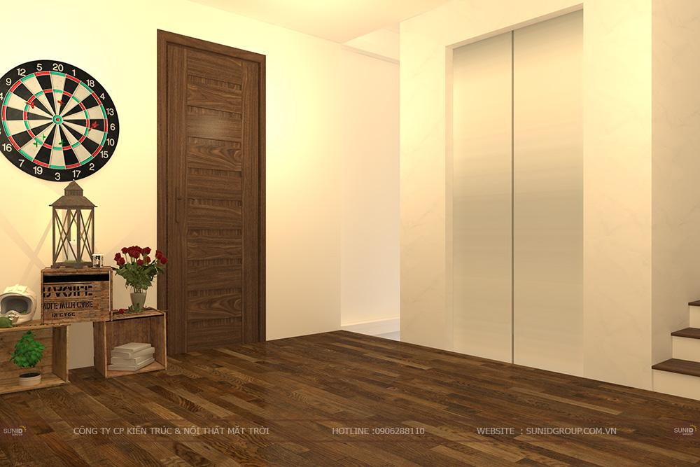 Thiết kế thi công nhà liền kề  lavender 124 Vĩnh Tuy - Hai Bà Trưng
