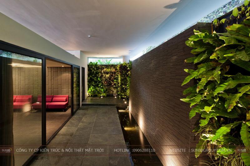 Thiết kế biệt thự hiện đại tại Bắc Ninh