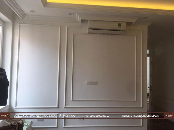 Thi công nội thất chung cư tân cổ điển tại Hà Nội