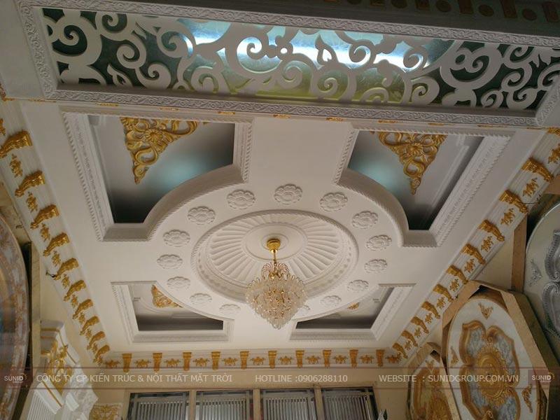 Các mẫu trần nhà đẹp và được ưa chuộng nhất hiện nay