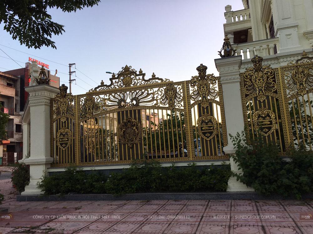 Thi công xây dựng biệt thự cổ điển
