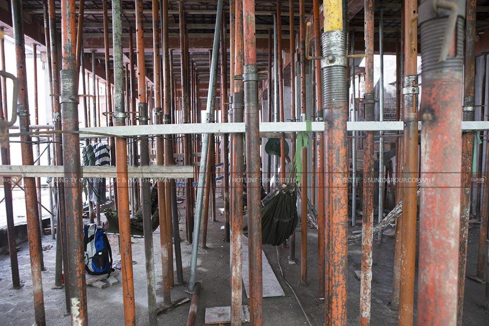 Thi công xây dựng nhà ở kết hợp làm văn phòng