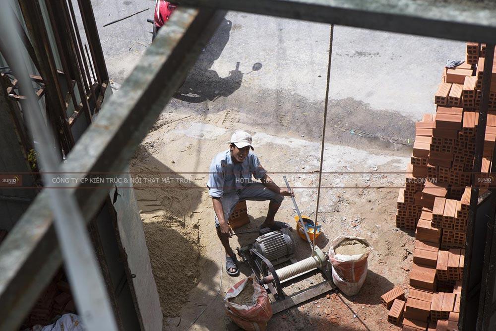 Thi công xây dựng nhà ở kết hợp làm văn phòngThi công xây dựng nhà ở kết hợp làm văn phòng