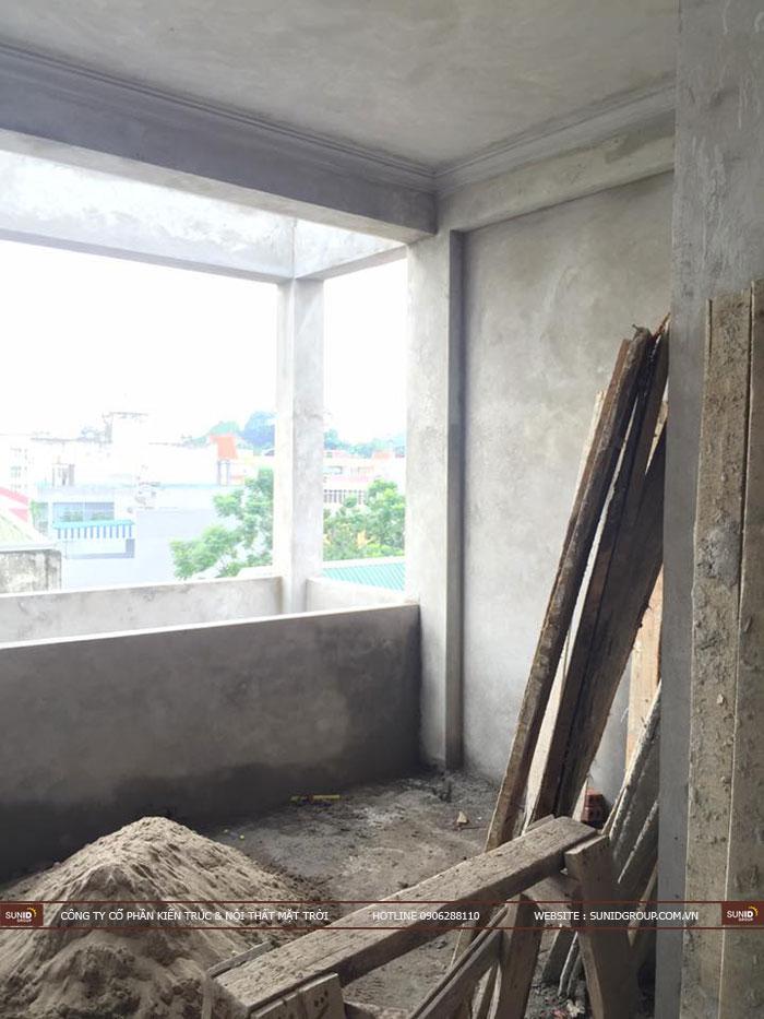 Thi công xây dựng nhà phố tại Đông Anh - Hà Nội